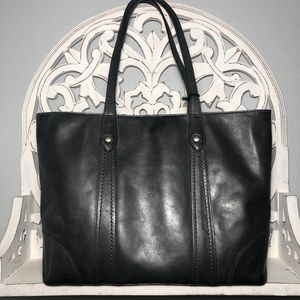 Frye Melissa Shopper Carbon Pull Up Leather NWT